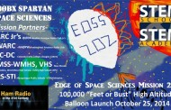 Edge of Space Sciences Balloon Flight Carrying Amateur Radio to Launch October 25