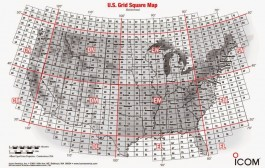 US Grid Square Map