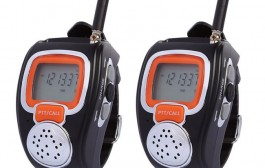 2 Pair Freetalker Walkie Talkie Two-Way Radio Wrist Watch