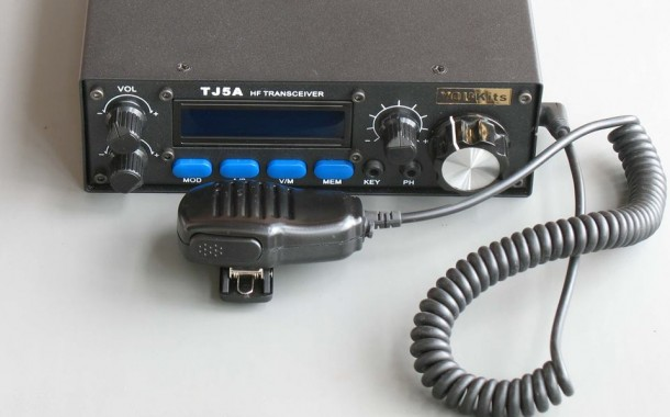 TJ5A HF 20W SSB CW Transceiver Kit and assembled