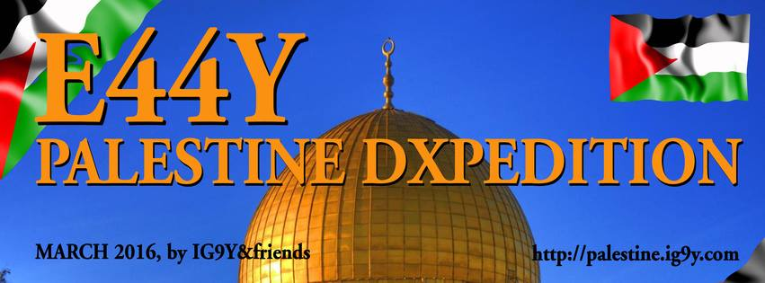 E44Y – Palestine Dxpedition 2016