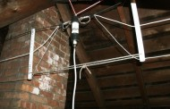 40/20/10 Meter Fan Dipole Attic Antenna by KD2GOE