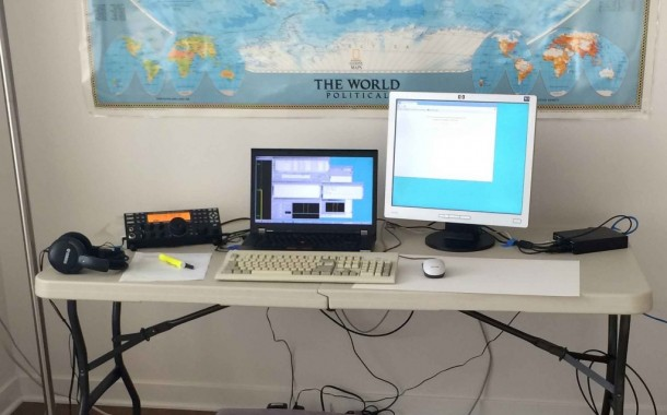 Operating Remotely in the 2014 Ten-Meter RTTY Contest by Mark, K6UFO