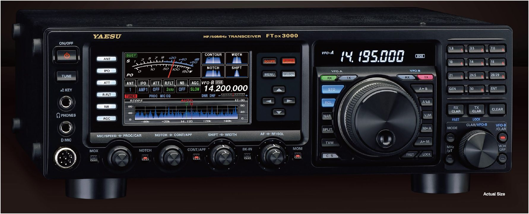 Yaesu ft dx 3000 qrz now amateur radio news for Ft 3000