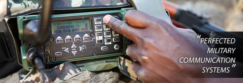 The Leopard Military Radio - 1 6 - 170 MHz