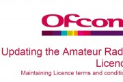 Ofcom – Updating the Amateur Radio Licence – Statement