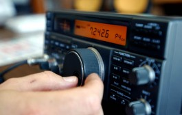 Ham radio operators drill for emergency