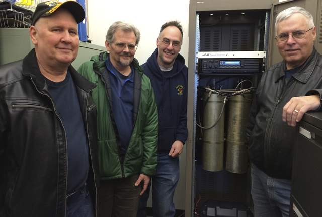 Amateur radio operators locate antenna at GHC