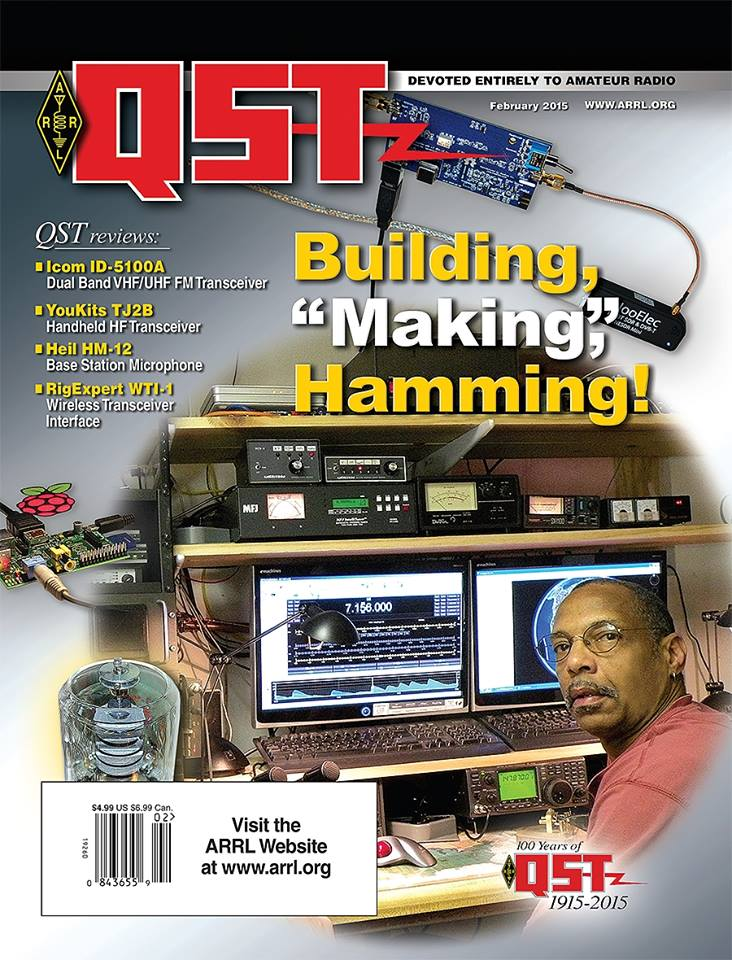 The February edition of Digital QST