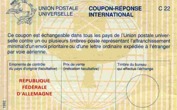 All About INTERNATIONAL REPLY COUPONS by N6HB
