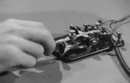 US Navy 1944 Training Video for Hand sending of Morse Code