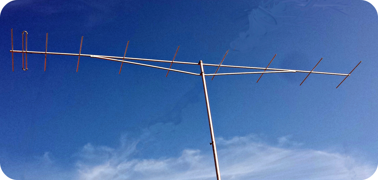 2m Yagi Beam Antenna 144 Mhz 10 Element Super Light High