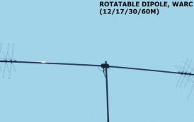 ROTATABLE DIPOLE , WARC (12/17/30/60M)