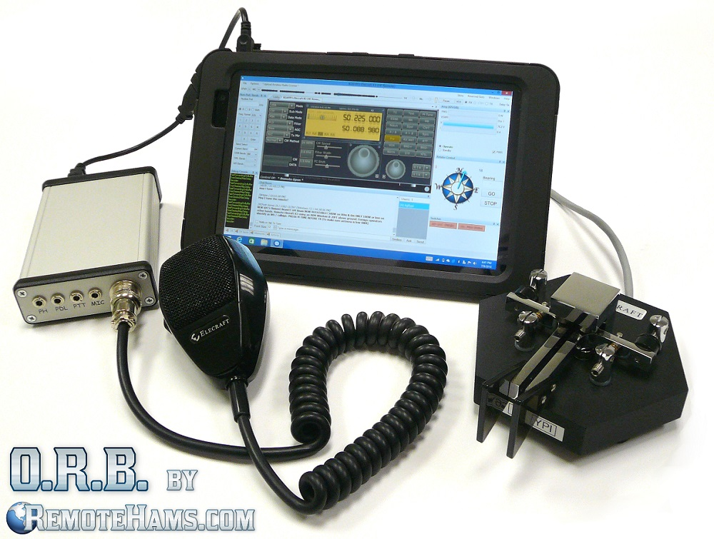 ORB Control Device, The Portable Online Remote Base Solution