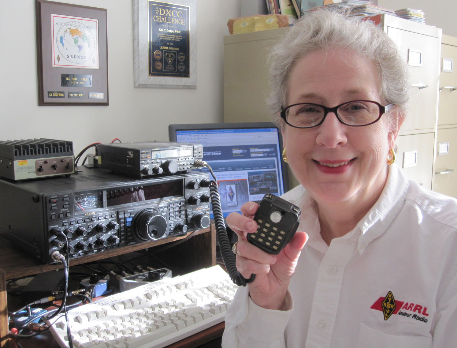 N3KN – ARRL President in the press