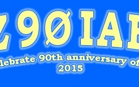 OZ90IARU to celebrate the IARU 's 90th anniversary