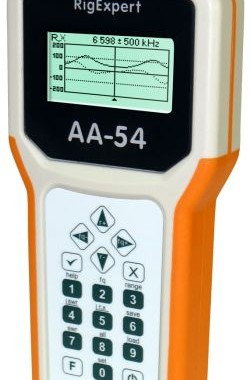 RigExpert AA-54 – HF Antenna Analyzer (0.1 to 54 MHz)