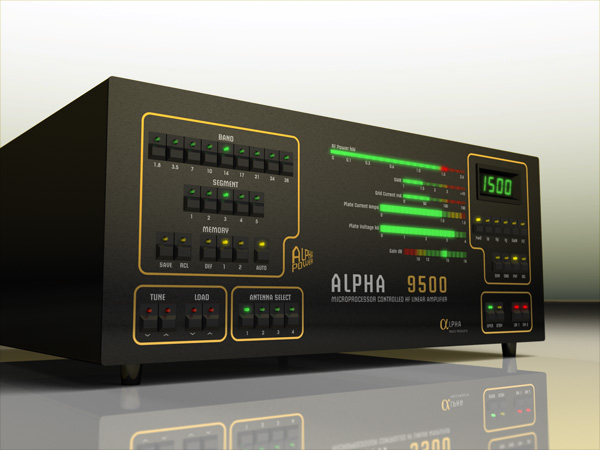 Alpha 9500 Autotune Full Legal Limit Linear Amplifier