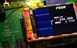 PSDR – Pocket HF SDR Transceiver with VNA and GPS