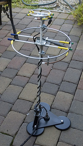 2 Meter & 70 Centimeter Mobile Halo Antenna Project