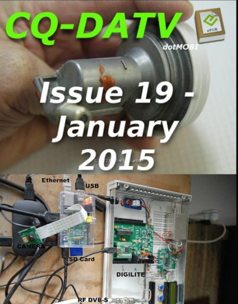 CQ DATV – Issue 19 – January 2015 ( Free  )