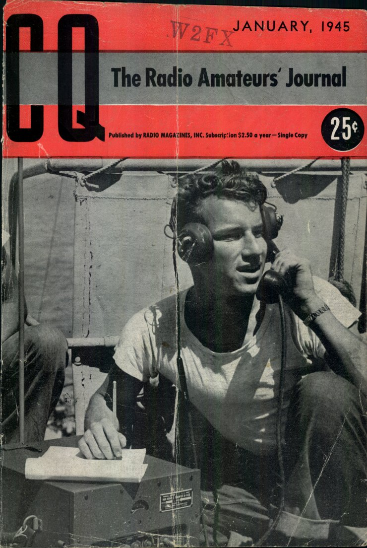 Read the First CQ Magazine 70 Years ago !