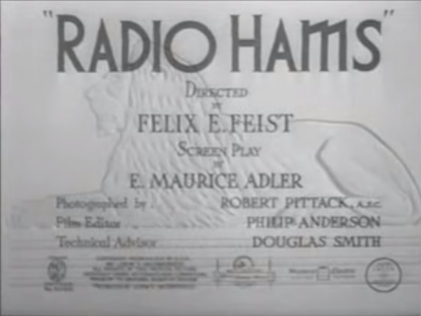 Old Time MGM Ham Radio Film