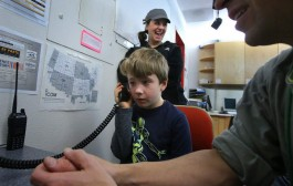 Kids learn about amateur radio , a hobby that can serve a need