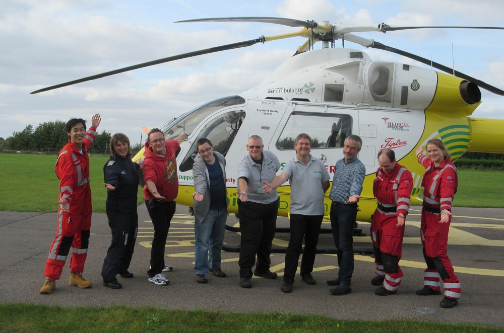 GB2EAA – International Air Ambulance Week 2015