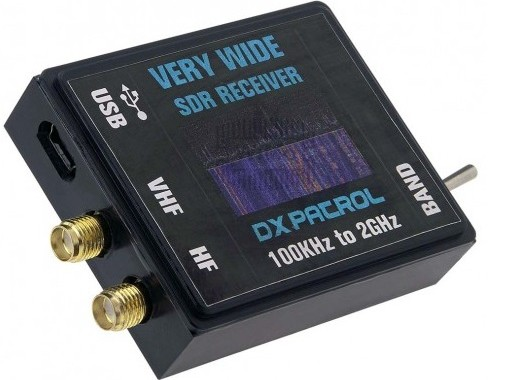 DX-Patrol SDR  ( Software Defined Radio ) Receiver with wide receiving range