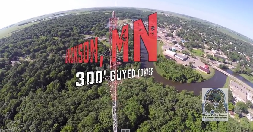 Jackson Tower Demolition  300′