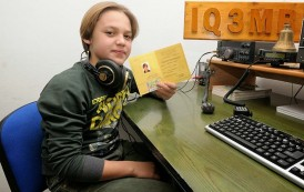 Martin, 12 years first radio amateur in Trentino Alto Adige