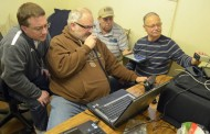 Amateur radio operators test their skills