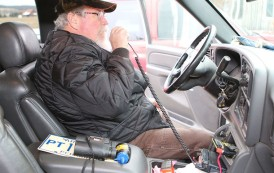 Area man uses Ham radio to call for help