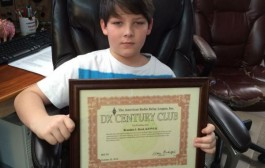 Young ham radio operator receives prestigious honor