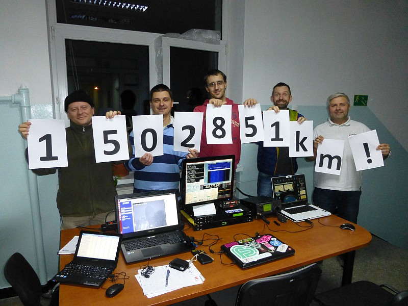 Polish Radio Amateurs Receive 3D-Printed ARTSAT2: DESPATCH QSL Card