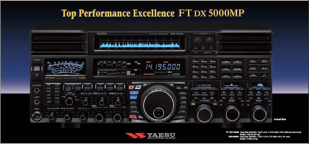 YAESU FT DX 5000MP HF/50 MHz 200W Transceiver