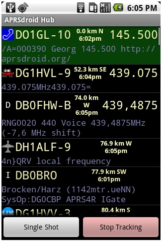 APRSdroid – APRS for Android