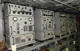 """Gray Radio Gang"" Reactivates Vintage Battleship Iowa HF Transmitter"