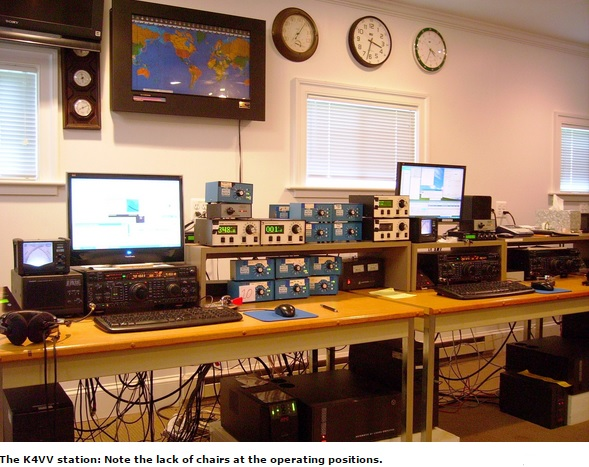 No One in the Shack as Station Logs 4200+ Contacts in ARRL DX CW Contest