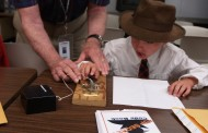 Youngsters Learn Morse Code