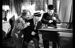 The three stooges and  morse code
