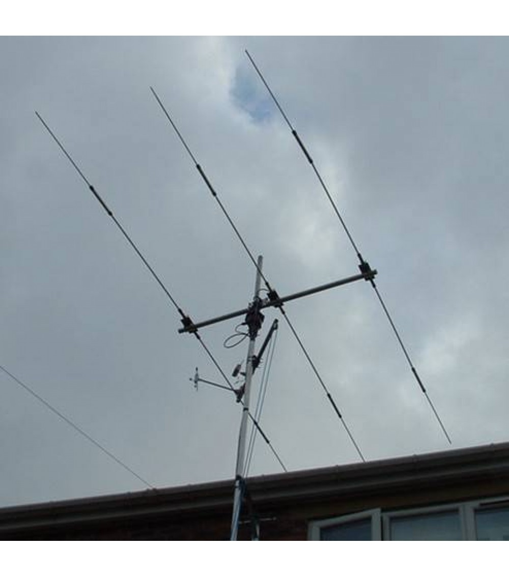 3 Element 3 Band Mini Beam From Zx Yagi