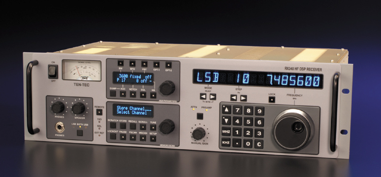 TEN-TEC RX-340 Commercial Monitor Receiver
