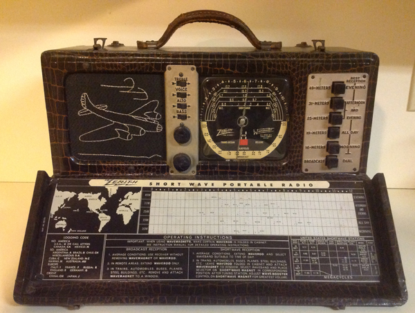 "Zenith Trans-Oceanic, The ""Royalty of Radios"""