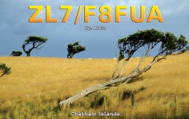 ZL7 / F8FUA Chatham Islands  – IOTA OC-038