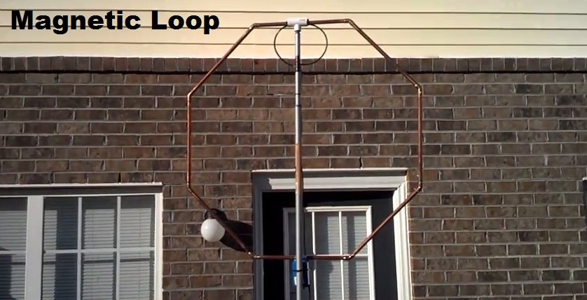 Magnetic Loop – Great HF Apartment Antenna | QRZ Now – Amateur Radio ...