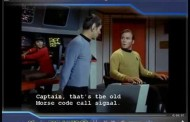 Morse Code 'CQ' on Star Trek