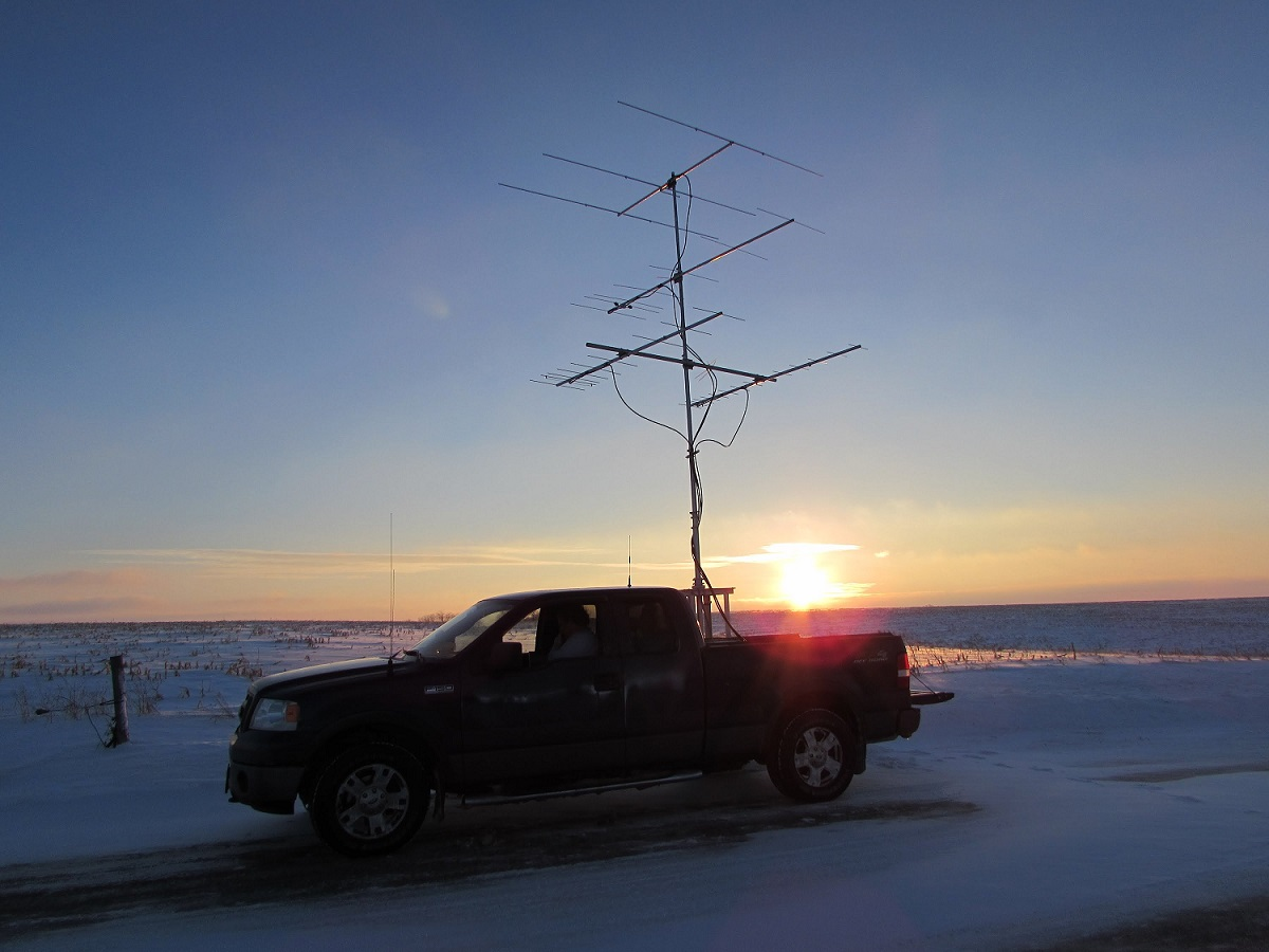 VHF /UHF / SHF Distance Records