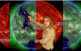 New SpaceWeatherWoman forecast video is up!